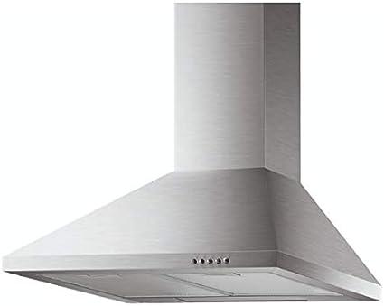 Modelo CH08A/60 - Campana extractora de cocina de 60 cm, instalación de pared, tipo Canalizado, color acero inoxidable: Amazon.es: Grandes electrodomésticos