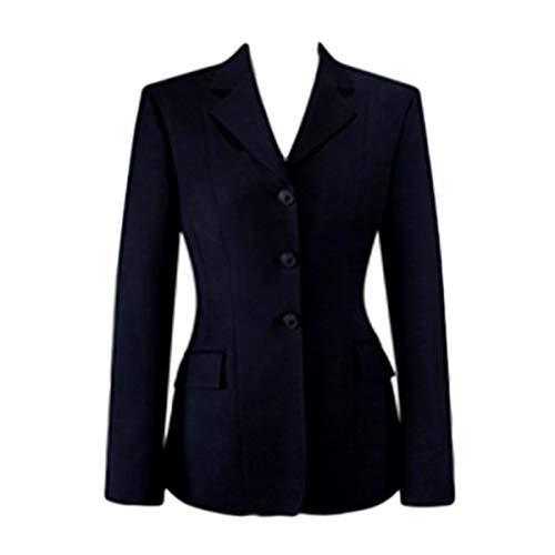 RJ Classics Ladies Diamond Collection Saratoga Show Coat Navy Plaid (6)