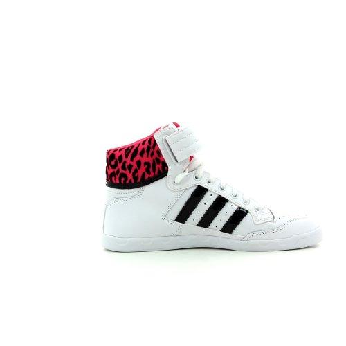 W Chaussures Hi pour Rose gymnastique adidas Blanc Femme de Centenary IXvIx