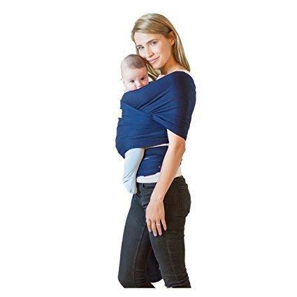Tragetuch Alles-in-einem Baby-Tragetuch Kleinkindtrage Babytrage Handfrei Babytraget/ücher Babyparty-Geschenk Dehnbare Baby-Traget/ücher Einheitsgr/ö/ße Mystisch Grau