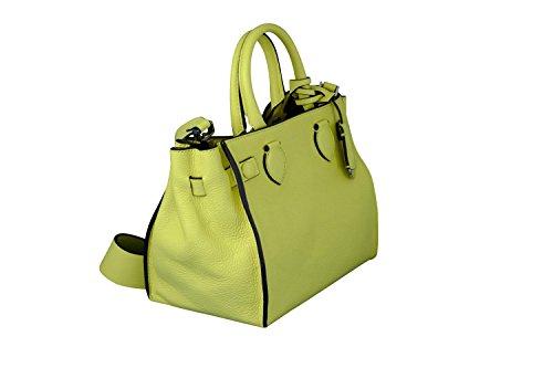 Coccinelle, Borsa a mano donna giallo limone