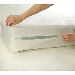 Zippered Plastic Mattress Cover - 7