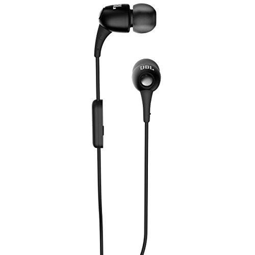 JBL T150A in Ear Headphones with Mic  Black