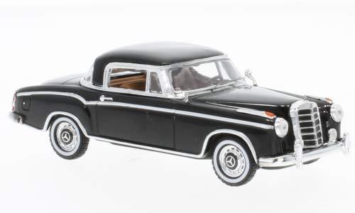 (Mercedes 220 SE Coupe, Black, 1958, Model Car,, Vitesse 1:43)