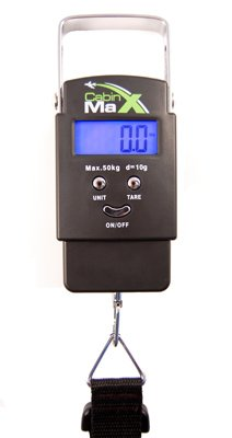 Cabin Max Digital Portable Travel Luggage NEW 2012 50KG model with batteries