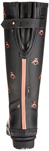 Black Love Joules Welly Rubber Boot Bees Women's Rain Print qpx6Tw1pX