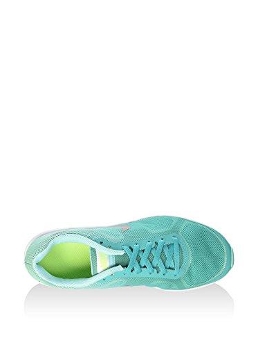 Nike Air Max Sequent (Gs), Zapatillas de Running para Mujer Verde (Clear Jade / Metallic Silver-Hyper Turq)