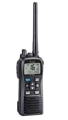 Icom M73-11 Plus 6 Watt Submersible Hand-Held VHF with Voice Recording