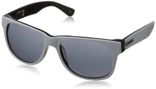 Hoven Big Risky 39-8201 Wayfarer Sunglasses,White & Black,55 - Boys Prescription Sunglasses