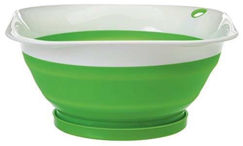 Prepworks by Progressive Collapsible Colander with Snap Fit