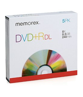 MEMOREX 32025844 DVD plus RDL 8.5GB 8X L 10SPN
