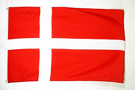 AZ FLAG Bandera de Dinamarca 90x60cm - Bandera DANESA 60 x 90 cm ...