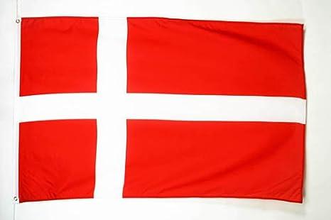 AZ FLAG Bandera de Dinamarca 90x60cm - Bandera DANESA 60 x 90 cm: Amazon.es: Hogar