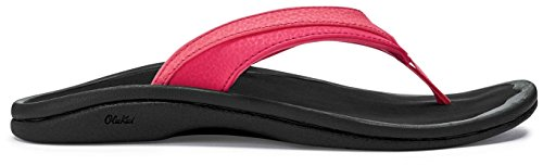 Guava Women's Black OLUKAI Jelly Sandals Ohana ZzYxpBS