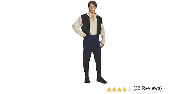 Han Solo Star Wars costume (disfraz): Amazon.es: Juguetes y juegos