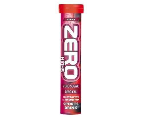 HIGH5 Zero Extreme Stimulant and Caffeine Drink Tabs - 20 Tablet Tube, Berry by High 5 by High 5