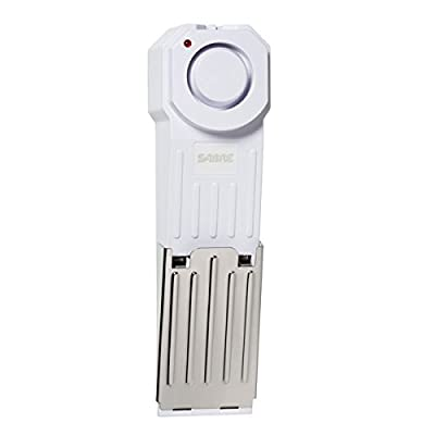 SABRE Wedge Door Stop Security Alarm with 120 dB Siren - Great for Home, Travel, Apartment or Dorm from Security Equipment [SECCA]