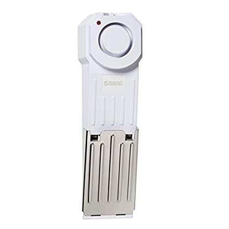 SABRE HS-DSA Wedge Door Stop Security Alarm with 120 dB Siren --- Great for Home, Travel, Apartment or Dorm