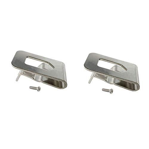UOSXVC Replacement Belt Hook Clip for Dewalt N268241 Fit for 20V Power Tools DCD980 DCD985 2Packs