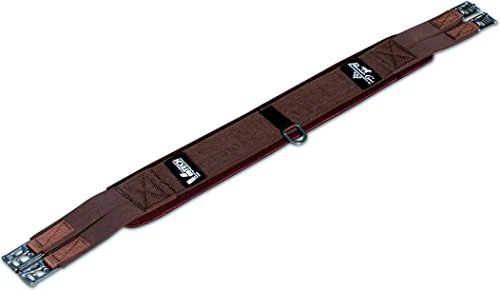 Professionals Choice Equine Ventech English Girth (Size 50-Inch, Chocolate Brown)