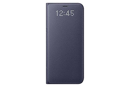 Genuine Samsung LED View Cover Flip Wallet Case for Samsung Galaxy S8 Violet EF-NG950PVEGWW
