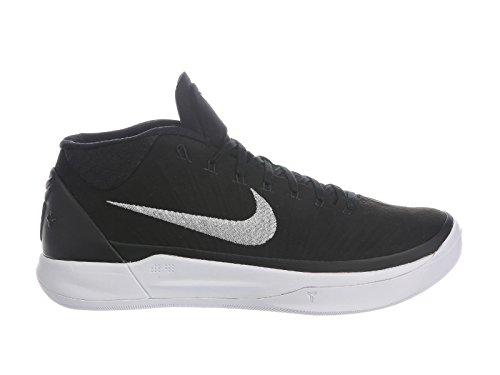 Kobe Men's Metallic Silver Nylon D Black Shoes NIKE A White Basketball 5fg8wxwqd