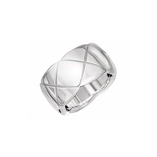 Shally Stainless Steel Eternity Wedding 10MM Band Ring Elegant Designed Engagement Ring Sizes 6 - 9 Photo #2