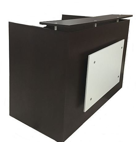DFS Reception Desk Shell Which Fits A 15u0026quot; Monitor   60u0026quot; W By  30u0026quot