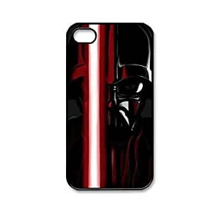 Popular Star Wars Calm Darth Vader Pattern Plastic Hard Case Cover for iPhone 4/4S
