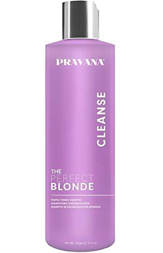 Pravana The Perfect Blonde Purple Toning Hair Shampoo 10.1 Oz Sulfate Free, 10.1 Oz