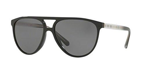 Burberry  Men's 0BE4254 Black/Polarized Grey One - Case Burberry Sunglass