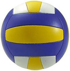 Takestop® Balón Beach Volley Azul Peso y tamaño oficial playa ...