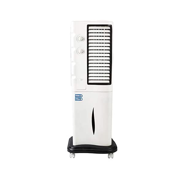 Usha Frost 35FT1 35-Litre Tower Cooler (White) 2021 August 2200m3/hr airflow for faster airflow Carbon dust filters for dust free air Carbon dust filters for dust free air