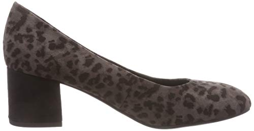 Tozzi Multi De Mujer Zapatos 31 241 Tacón Marco Para Gris 22403 dk grey PSd1Pwq