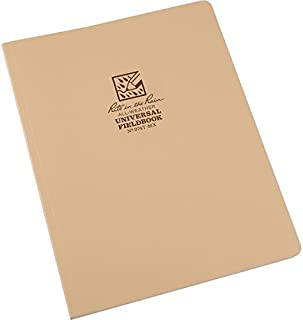 "product image for Rite in the Rain RITR974TMX Field Flex Maxi Bound Notebook 64 Sheets Tan 8.5x11"""