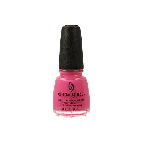 China Glaze Nail Care - China Glaze Nail Lacquer with Hardeners:Shocking Pink