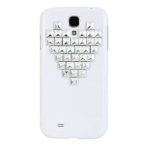Love Shape Rivet Pattern Hard Case for Samsung Galaxy S4 I9500