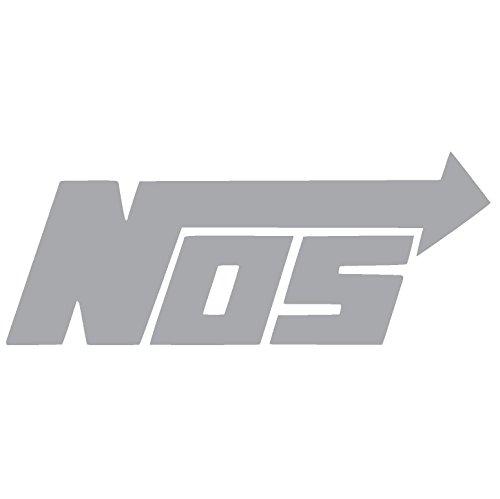 NOS NITROUS OXIDE SYSTEMS Vinyl Sticker Decal (4
