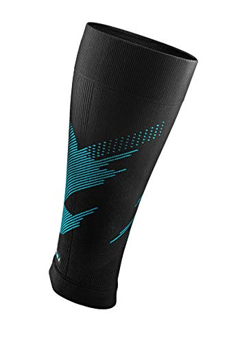 (Rockay Blaze Calf & Shin Graduated Compression Leg Sleeves for Men and Women 16-23 mmHg - (1 Pair))