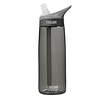 32850538b9 Camelbak Eddy Tritan Bottle - 750ml, Charcoal: Amazon.co.uk: Sports ...
