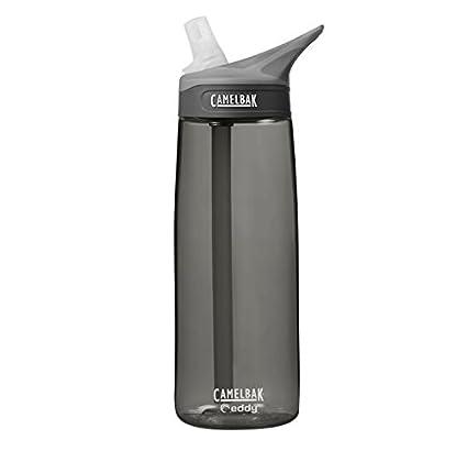 camelbak eddy  : CamelBak Eddy Water Bottle, 0.6 L, Charcoal : Sports ...