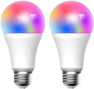meross Smart WLAN Mehrfarbige Dimmbare LED Glühbirne ...