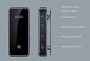 FiiO BTR3 HiFi Bluetooth Receiver with aptX/aptXHD/aptXLL/LDAC/AAC Support,  Portable Mini Music Audio Receiver for Home TV,Speaker,Car Stereo, NFC