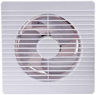 QIQIDEDIAN Extractor Ventilador de 8 Pulgadas Baño Cocina Pared de Vidrio Ventana Hogar Panel Delgado Ventilador de ventilación: Amazon.es: Hogar