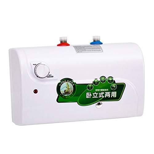 (TABODD Electric Hot Water Heater 1500W 8L Tank Electric Heating Machine for Household Bathroom Kitchen Washing Shower 30°-65°)