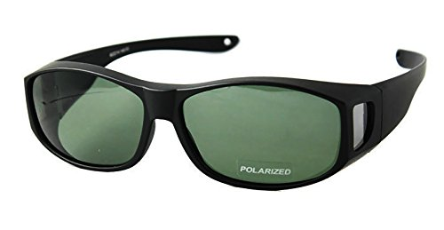 FIT OVER SUNGLASSES WITH POLARIZED LENSES .JUST ADD - Polarized Tempered Sunglasses Glass