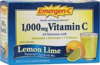 ALACER Emer'gen-C Lemon-Lime 30 PKT Review