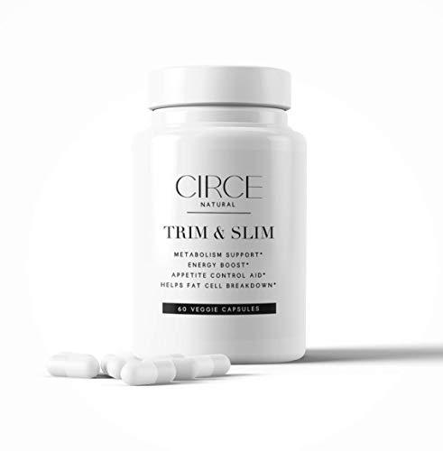 CIRCE Trim & Slim Natural, Vegan Weight-Loss Supplement for Women – Metabolism Booster, Fat Burner, and Appetite…
