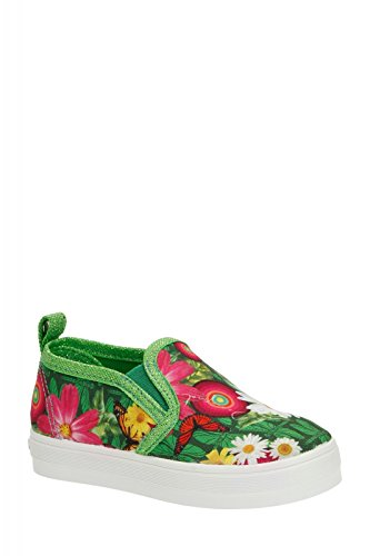 DESIGUAL Kinder-Sneakers LONA grün/bunt Gr. 26