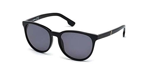 DIESEL Sunglasses DL0123 01N Shiny Black